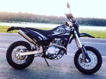 Мотоцикл на кликах
